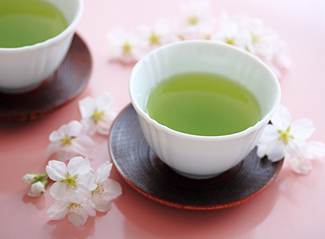 recipe preview image - sakura sencha