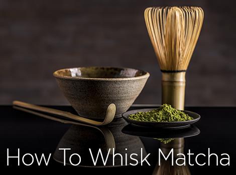 blog thumbnail - how to whisk matcha