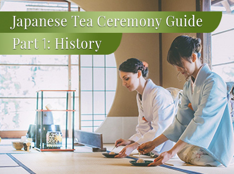 blog thumbnail - Japanese tea ceremony history 1